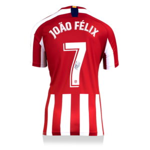 BUY AUTHENTIC SIGNED JOAO FELIX 2019-20 ATLETICO MADRID JERSEY IN WHOLESALE ONLINE