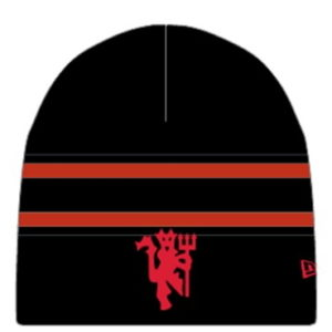 BUY MANCHESTER UNITED BLACK NEW ERA BEANIE IN WHOLESALE ONLINE