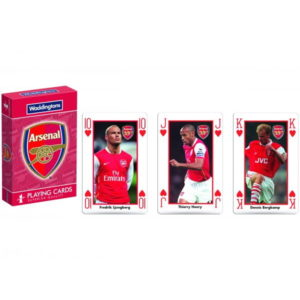 BUY ARSENAL WODDINGTONS CLASSIC PREMIUM PLAYING CARDS IN WHOLESALE ONLINE