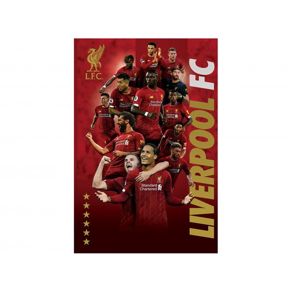 BUY LIVERPOOL 2019-20 CHAMPIONS POSTER IN WHOLESALE ONLINE