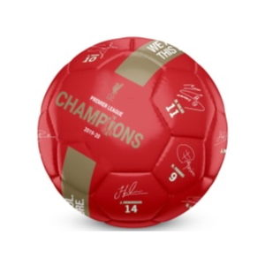 BUY LIVERPOOL RED EPL CHAMPIONS SIGNATURE SOCCER BALL IN WHOLESALE ONLINE