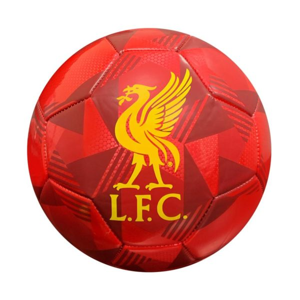 BUY LIVERPOOL RED PRISM SOCCER BALL IN WHOLESALE ONLINE