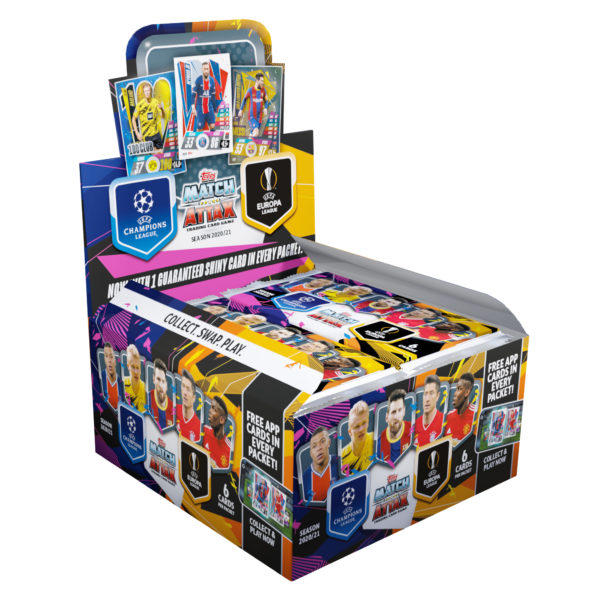 BUY 2020-21 TOPPS MATCH ATTAX CHAMPIONS LEAGUE CARDS BOX IN WHOLESALE ONLINE