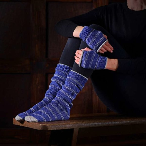 BUY HARRY POTTER RAVENCLAW SOCKS & MITTENS KNITTING SET IN WHOLESALE ONLINE