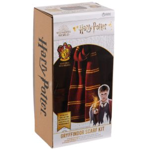 BUY HARRY POTTER GRYFFINDOR SCARF KNITING SET IN WHOLESALE ONLINE