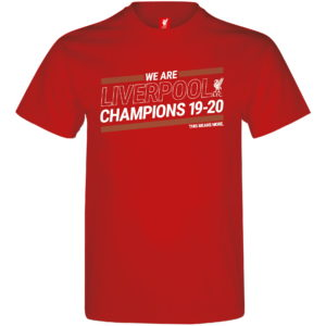 BUY LIVERPOOL RED PREMIER LEAGUE CHAMPIONS YOUTH T-SHIRT IN WHOLESALE ONLINE