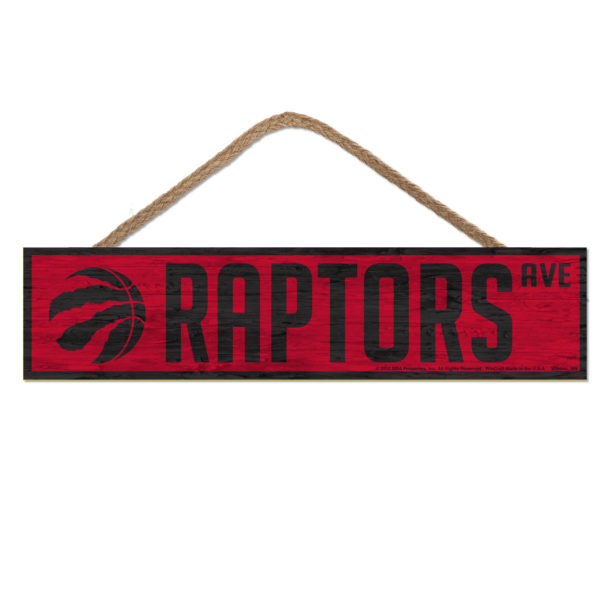 BUY RAPTORS AVE WOOD SIGN WITH ROPE IN WHOLESALE ONLINE