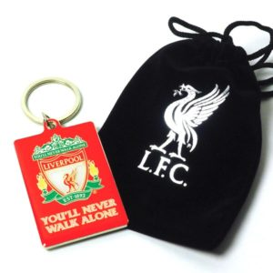 BUY LIVERPOOL KEYCHAIN VELVET GIFT BAG IN WHOLESALE ONLINE
