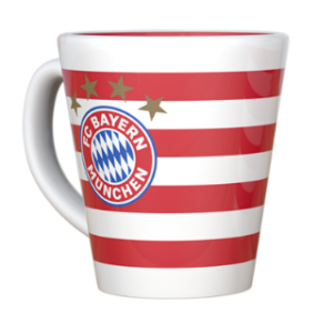 BUY BAYERN MUNICH STRIPE MUG IN WHOLESALE ONLINE