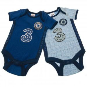 BUY CHELSEA 2020/21 BABY ONESIE SET IN WHOLESALE ONLINE