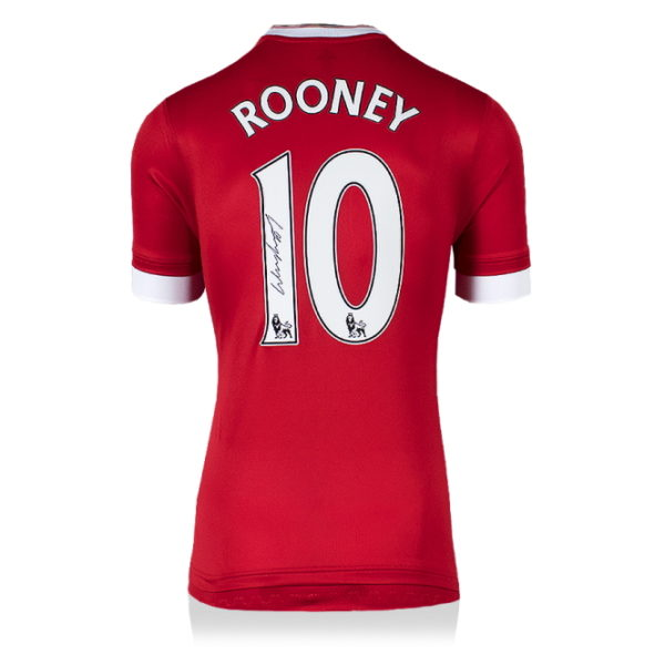 BUY WAYNE ROONEY MANCHESTER UNITED 2015-16 SIGNED SHIRT IN WHOLESALE ONLINE