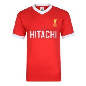 BUY LIVERPOOL RETRO 1978 HOME HITACHI JERSEY T-SHIRT IN WHOLESALE ONLINE
