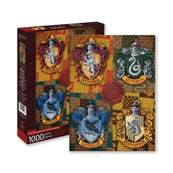 BUY HARRY POTTER HOUSE CRESTS PUZZLE IN WHOLESALE ONLINE