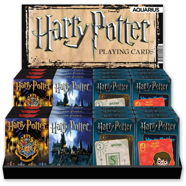 BUY HARRY POTTER ASSORTED PLAYING CARD DISPLAY IN WHOLESALE ONLINE