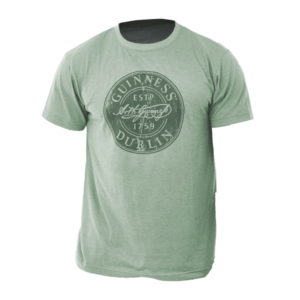 BUY GUINNESS GREEN BOTTLE CAP T-SHIRT IN WHOLESALE ONLINE