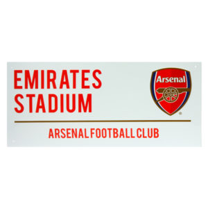 BUY ARSENAL WHITE STREET SIGN IN WHOLESALE ONLINE