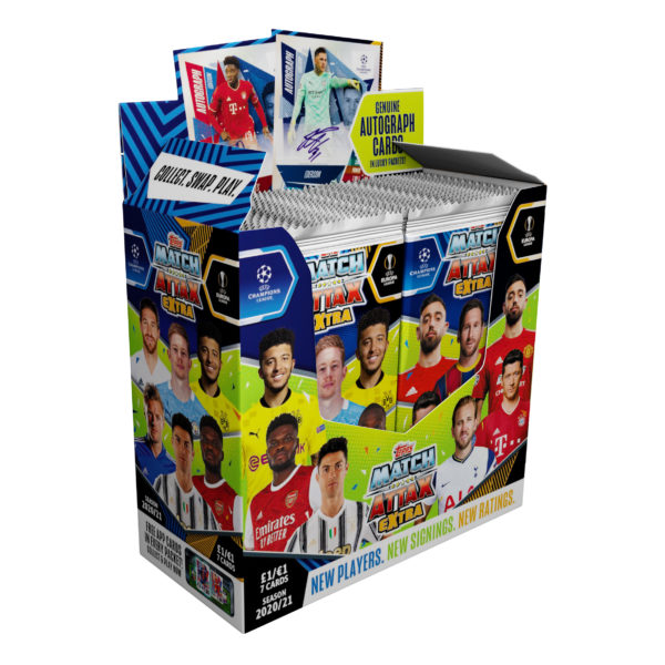 BUY 2020-21 TOPPS MATCH ATTAX EXTRA CHAMPIONS LEAGUE CARDS BOX IN WHOLESALE ONLINE
