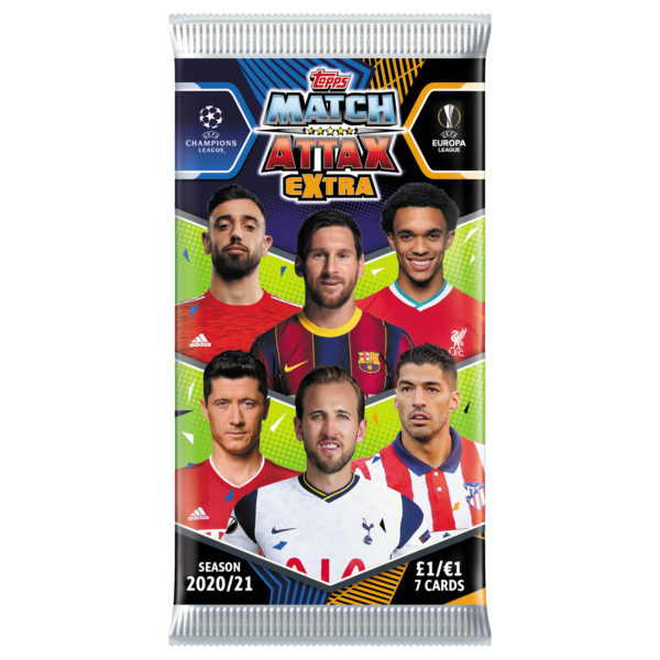 BUY 2020-21 TOPPS MATCH ATTAX EXTRA CHAMPIONS LEAGUE CARDS IN WHOLESALE ONLINE
