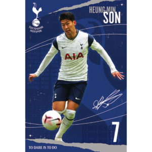 BUY HEUNG MIN SON 2020-21 POSTER ONLINE IN WHOLESALE
