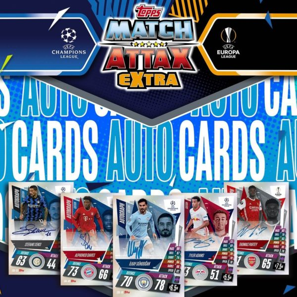 BUY 2020-21 TOPPS MATCH ATTAX EXTRA CHAMPIONS LEAGUE CARDS ONLINE IN WHOLESALE
