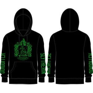 BUY HARRY POTTER BLACK SLYTHERIN HOODIE IN WHOLESALE ONLINE