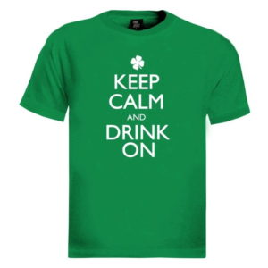 BUY IRELAND KEEP CALM AND DRINK ON T-SHIRT IN WHOLESALE ONLINE