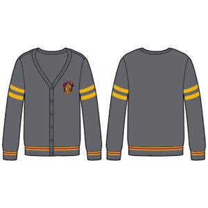 BUY HARRY POTTER GRYFFINDOR CARDIGAN IN WHOLESALE ONLINE