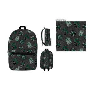 BUY HARRY POTTER SLYTHERIN PATCH BACKPACK IN WHOLESALE ONLINE