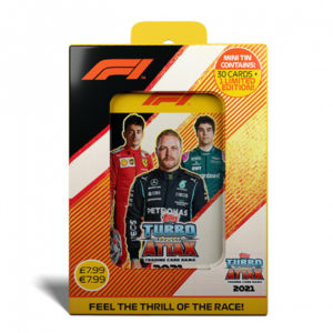 BUY 2021 TOPPS F1 TURBO ATTAX CARDS MINI COLLECTOR TIN IN WHOLESALE ONLINE