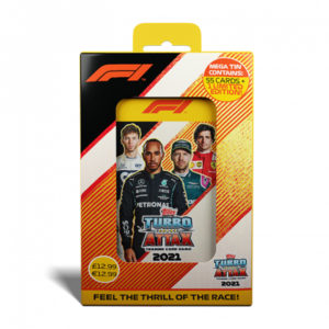 BUY 2021 TOPPS F1 TURBO ATTAX CARDS MEGA TIN IN WHOLESALE ONLINE