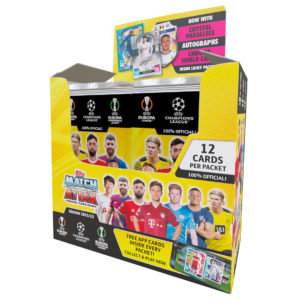 BUY 2021-22 TOPPS MATCH ATTAX CHAMPIONS LEAGUE CARDS IN WHOLESALE ONLINE