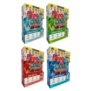 BUY 2021-22 TOPPS MATCH ATTAX CHAMPIONS LEAGUE CARDS MINI TIN IN WHOLESALE ONLINE