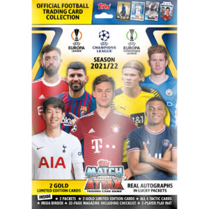 BUY 2021-22 TOPPS MATCH ATTAX CHAMPIONS LEAGUE CARDS STARTER PACK IN WHOLESALE ONLINE