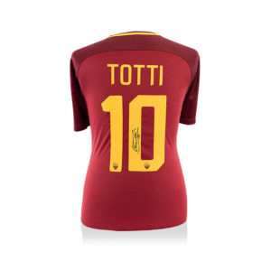 BUY FRANCESCO TOTTI SIGNED 2017-18 AS ROMA JERSEY IN WHOLESALE ONLINE